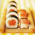 Sushi au saumon fume Burren Smokehouse